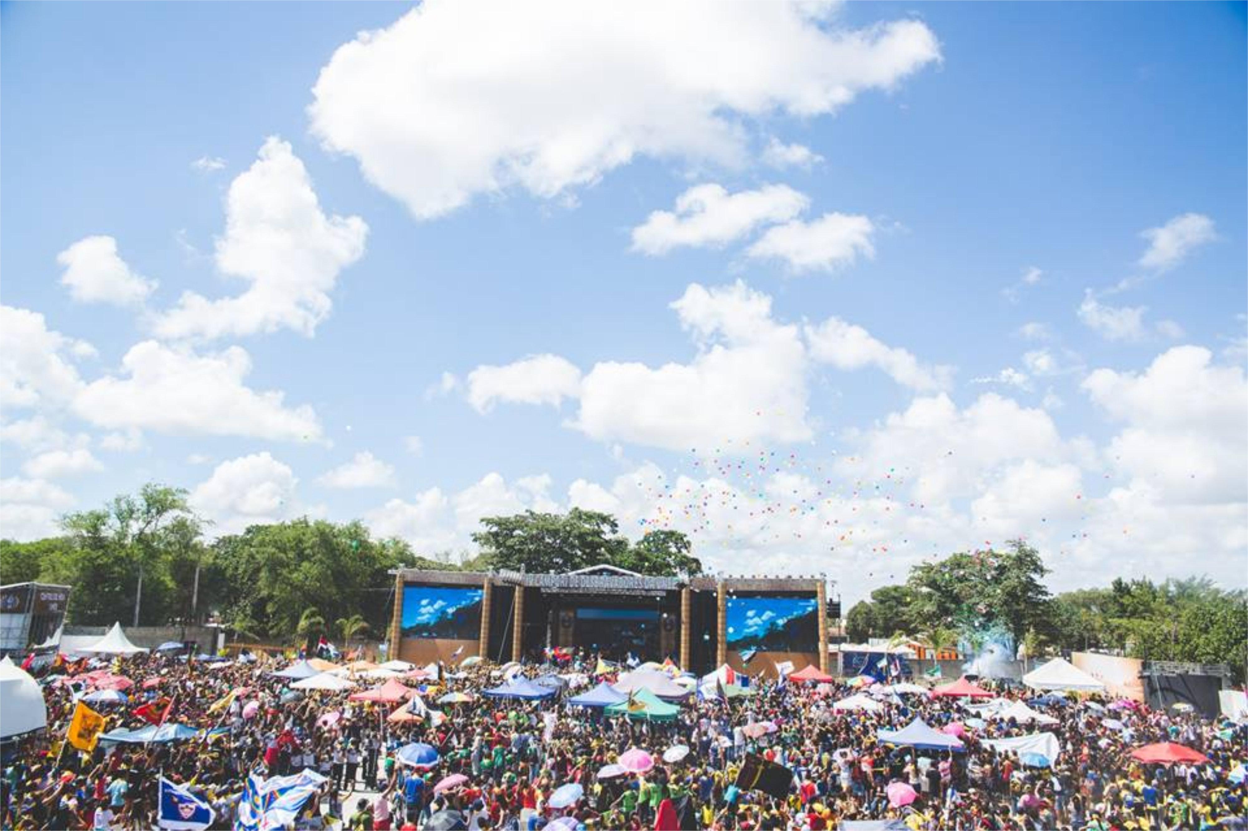 Scen på en festival